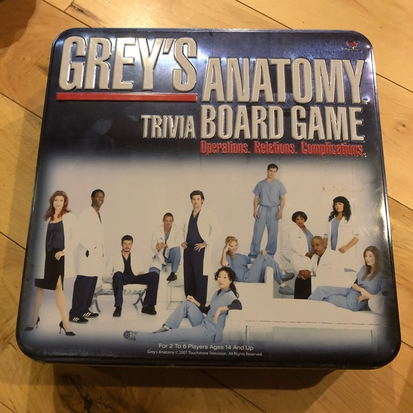 Games Greys Anatomy Board Game Poshmark